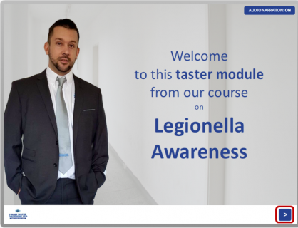 Free Legionella Awareness Taster Module