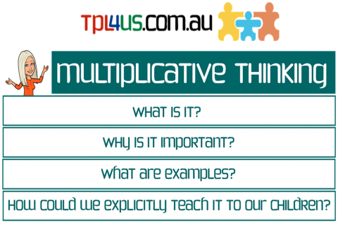 Multiplicative Thinking (MT101)