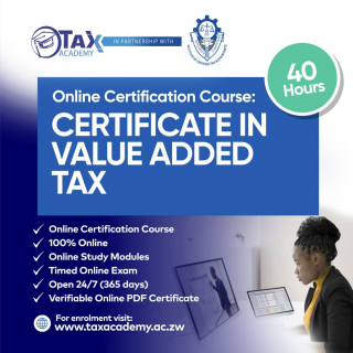 Certificate in Value Added Tax