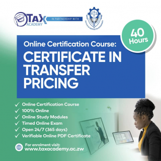 Certificate in Transfer Pricing