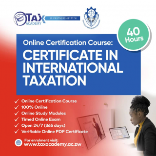 Certificate in International Taxation (CIT1001)