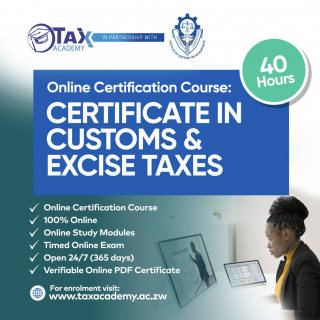 Certificate in Customs & Excise Taxes