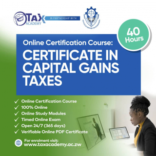 Certificate in Capital Gains Taxes