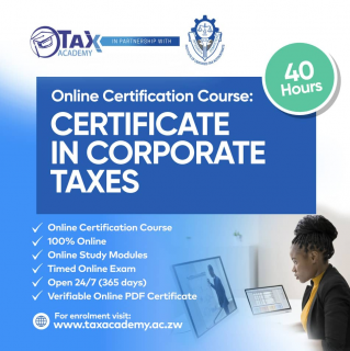Certificate in Corporate Taxes