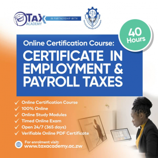 Certificate in Employment & Payroll Taxes