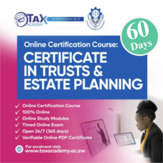 Certificate in Trusts and Estate Planning