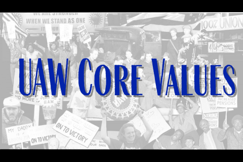 UAW Core Values
