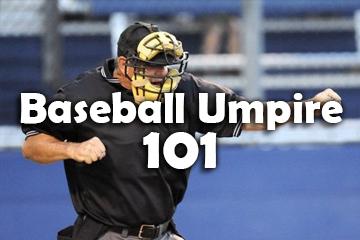 Baseball Umpire 101 (BU101)