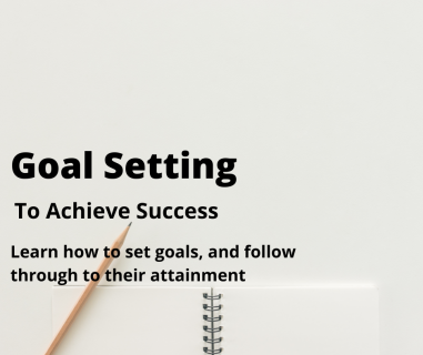 Goal Setting (PD01)