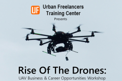 RISE OF THE DRONES: UAV Business & Career Opportunities Course (Member's Only) (clone)