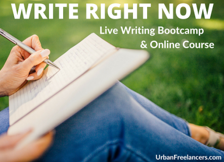 WRITE RIGHT NOW!- Free Course Preview