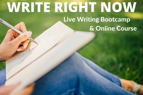 WRITE RIGHT NOW! - The Writer's Bootcamp