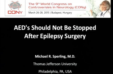 2014 AEDs should not be stopped after epilepsy surgery