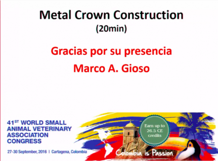 (IN SPANISH) Metal Crown Construction