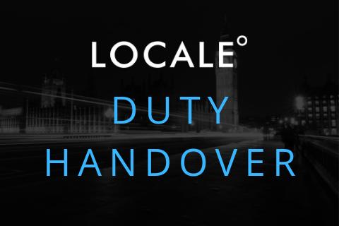 Duty Handover