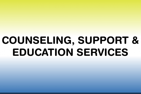 Policies & Procedures - Counseling, Support & Education Services (CSE)