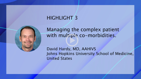 Managing Today's Complex HIV Patient 2019 - HIGHLIGHT 3 | David Hardy