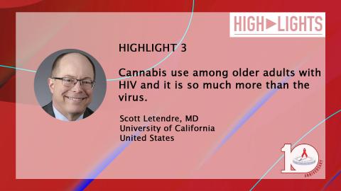 HIV & Aging 2019 - HIGHLIGHT 3 | Scott Letendre