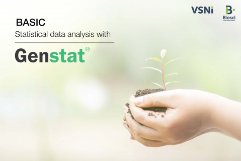 Basic statistical data analysis with Genstat (Genstat_01)