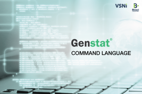 Genstat: Command language (Genstat_04)