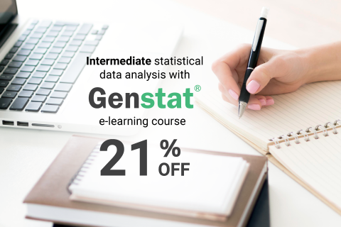 Intermediate statistical data analysis with Genstat (Genstat_02)