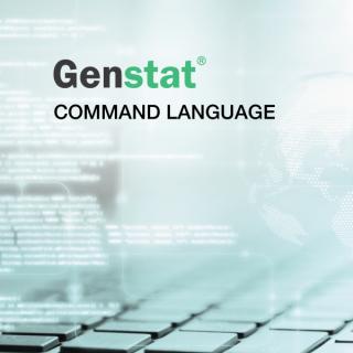 Genstat: Command language (Genstat_04)