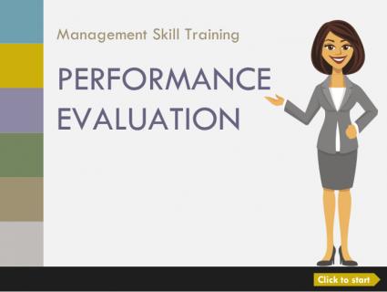 米国での人事考課(2部構成):Performance Evaluation 2 Parts (English) (aMS005)