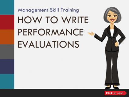米国での人事考課書の書き方:How to Write Performance Evaluation (English) (aMS006)