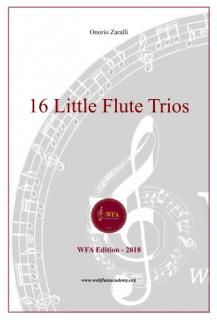 16 Little Flute Trios (16LFT-P-OZ)