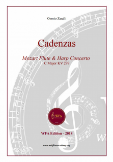 CADENZAS. W.A.Mozart. Flute Concerto in C Major. KV 299. (M299-OZ)