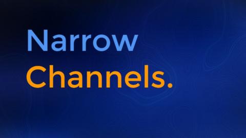 Masterclass - Narrow Channels (MC003)