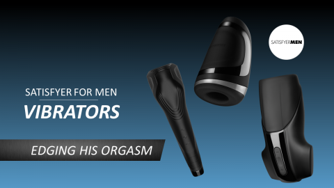 Satisfyer: Mens Vibrators