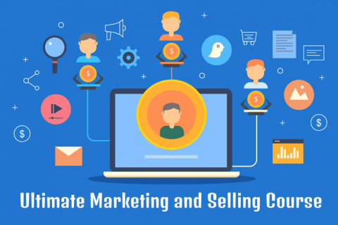 Ultimate Marketing  (The Art of Selling On Various Channels For All Businesses, and Entrepreneurs) (WMC36)