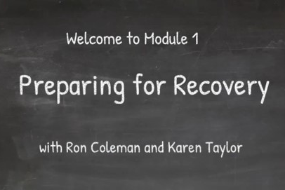 Module 1 - Preparing for Recovery (P4R_001)