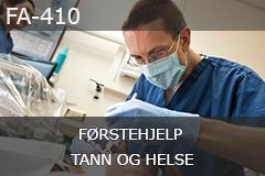 Førstehjelp - Tann og helse (FA-410)