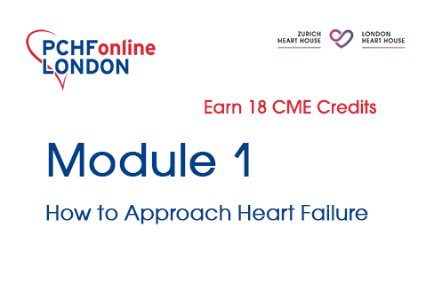 Module 1: How to Approach Heart Failure (18 CME Credits) (PCHF01)