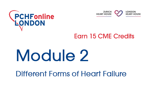 Module 2: Different Forms of Heart Failure (15 CME Credits) (PCHF02)