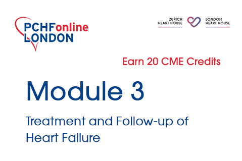 Module 3: Treatment and Follow-up of Heart Failure (20 CME Credits) (PCHF03)