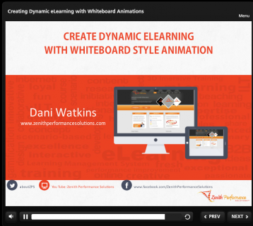 Create Dynamic E-Learning with Whiteboard Style Animation (TH111HOL)