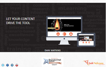 Let Your Content Drive the Tool