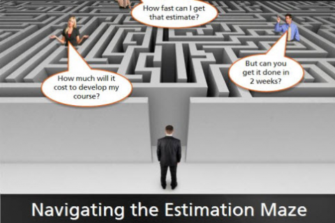 Navigating the eLearning Project Estimation Maze (ZPS005)