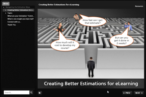 Training 2018-Creating Better Estimates for eLearning